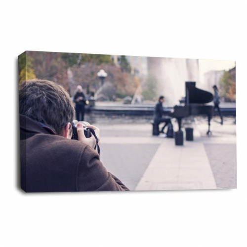 Piano Music Canvas Wall Art Large Abstract Picture Print